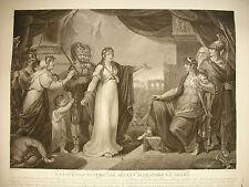 THOUVENIN d'ap J SingletonTimoclée devant Alexandre le Grand Alexander the Great