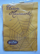 Perlon suspender stockings vintage Size 10 NORMAL SEE PICTURES Nylons 20 Den