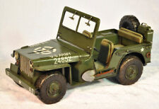 Vintage Production by Jayland US Army Military Jeep Home Office Decoration Decor