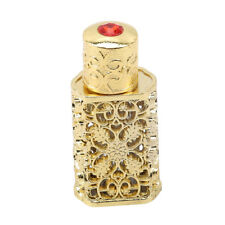3ml Golden Middle Eastern Arabic Style Mini Vintage Portable Perfume Bottle G