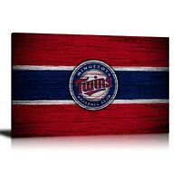 HD Printed Oil Painting Home Decor Wall Art On Canvas Minnesota Twins Unframed