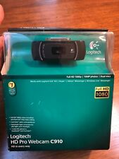 NIB Logitech Pro C910 1080p HD Webcam - Brand New Sealed!- some box wear