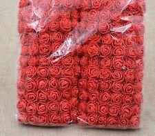 36 Foamrosen Schaumrosen Rosenköpfe Rosenblüte Rose Flowers Tüll  Stiel Blätter