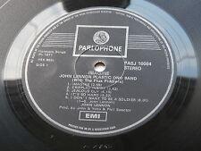 JOHN LENNON ORIG 1971 IMAGINE LP SOUTH AFRICAN PRESS PARLOPHONE ONE E.M.I. BOX