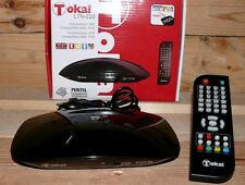 DVB-T Kabel Receiver Tokai LTN 220 Mini TV Tuner PVR USB MPEG TV FB Scart Black