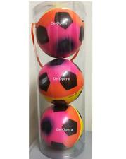 New 3Pc Sponge Mini Colorful Hop Balls Soccer Balls Soft Toys Kids Play