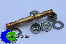 Hobbed Bolt Wades Extruder, M8 including washers and nuts, 3D Printer