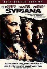 Syriana (DVD, 2006, Full Frame)