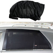 Pair Black Baby Health Privacy Protection Window Mesh Car Sun Shades New Size L
