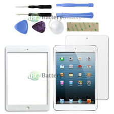 White LCD Screen Glass Lens Replacement+Shield for Apple iPad Mini 1 2 3 +Tools
