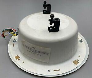 """Quam System BB2  8"""" Blind Mount Dual Cone Speaker System 5W-25/70V White"""