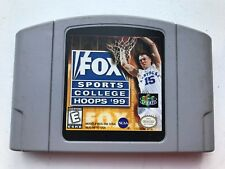 FOX SPORTS COLLEGE HOOPS '99 - NINTENDO 64 N64 - TESTED - FAST SHIPPING