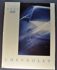 1993 Chevrolet Brochure Beretta Caprice Corsica Lumina Cavalier Nice Original 63