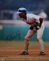 Ken Griffey Jr. Autograph Signed 8x10 Photo ( HOF Mariners ) REPRINT