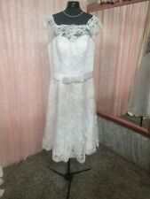 Size 14/16 Tea Cup Wedding Dress