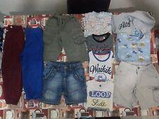 Lotto 178 stock 11 pezzi pantaloncini magliette bimbo bambino 2-3 Anni