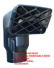 """Snorkel Head - LANDROVER / OFF ROAD 4x4 Replacement - for 3"""" body /  VC34NC0010"""