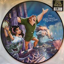 Walt Disney Soundtrack Timbre de campana Notre Dame Ltd Picture Disc Vinilo LP