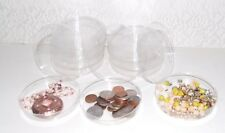 Craft - Bead - Miscellaneous Storage Dishes With Lids Pack of 10 W/Free Ship