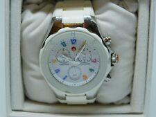 Michele Tahitian Chronograph Jelly Bean JL35064 White Watch