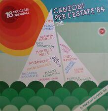 CANZONI PER L'ESTATE 84 TRE Compilation - LP / 33 giri 1984 Dischi Ricordi
