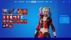 Fortnite Harley Quinn Rebirth Skin Digital Code Only