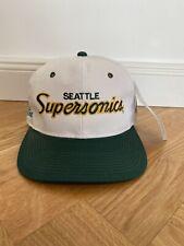 Vintage Sports Specialties SnapBack cap seattle sonics Starter rythm