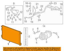 GM OEM A/C AC Condenser, Compressor Line-Condenser 23428278