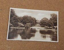 Cheltenham spa pittville park Sepia tone posted 1940's  XC1