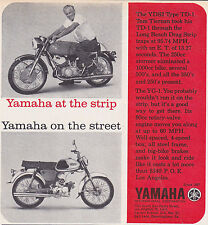 1964 YAMAHA YG-1 MOTORCYCLE  ~  NICE ORIGINAL SMALLER PRINT AD