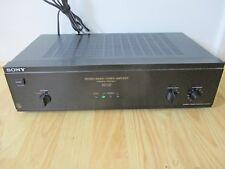 SONY TA N-110 STEREO / MONO Power Amplifier - Black - WORKING