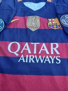 XAVI  SIGNED BARCELONA 2015/2016 + COA