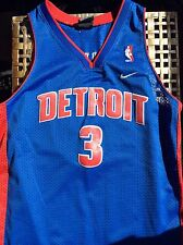 Vintage Size Youth Large Length+2 Big Ben Wallace Detroit Pistons #3 NBA Jersey