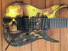 WOW! Dean Rusty Cooley 7-String Electric Guitar - Skullz Graphic FREE SHIPPING!