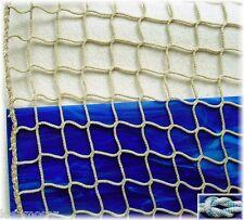Schutznetz, Dekonetz, Kinderschutznetz 2 Meter breit, wetterfestes 3mm Fangnetz