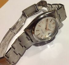 Vintage Authentic Rolex Date 1500 - Cal. 1570 - Silver Dial - Mint Rare model
