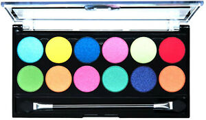 MUA SILENT DISCO  EYESHADOW PALETTE 12 SHADES NEW & SEALED ONLY £2.99 FREE POST