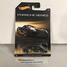 Porsche 918 Spyder #2 * Black * Porsche Series * Hot Wheels Special Edition