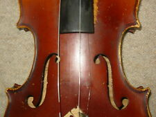 Nice old Violin violon Stradivarius made in Czechoslovakia