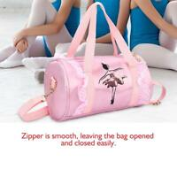 Girls Kids Ballet Dance Bags Handbag Tote Duffel Shoulder Latin Bag Embroidered