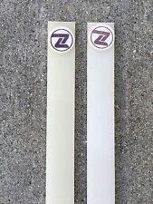 Vintage NOS '83 / '84 (2) Pair of Z-Flex (Z products) Sticky Rails - White