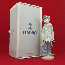 More details for lladro figurine 5472 circus sam - clown with violin - boxed