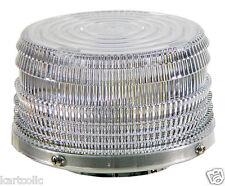 SHO-ME BI-COLOR 360° LED BEACON- AMBER/WHITE - MAGNETIC MOUNT