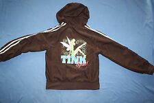 S TINKERBELL DISNEY Women's Juniors brown hoodie small TINK SPORTS 53
