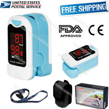 CONTEC Fingertip Pulse Oximeter,SPO2 Heart Pulse Rate Monitor,Pouch,Lanyard USA