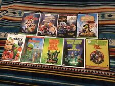 9 MUPPETS / Jim Henson DVD Lot Swamp Years Caper Space Take Manhattan TMNT