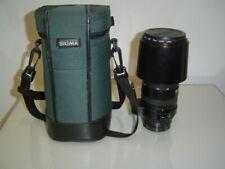 Sigma 135-400 APO Zoom Lente Sony Montaje