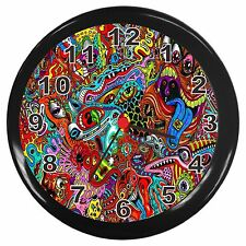 Psychedelic Room Decor Wall Clock