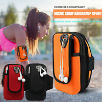FP- KQ_ FT- FP- Universal Sport Running Riding Gym Arm Band Pouch Holder Bag For
