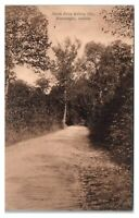 1908 North Drive Indiana University, Bloomington, IN Postcard *6E1